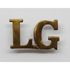 Life Guards (L.G.) Shoulder Title