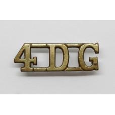 4th Royal Irish Dragoon Guards (4DG) Shoulder Title