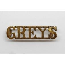 Royal Scots Greys (GREYS) Shoulder Titles