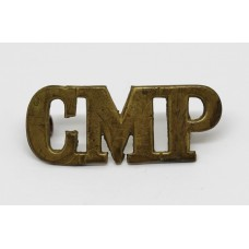 Corps of Military Police (C.M.P.) Shoulder Title