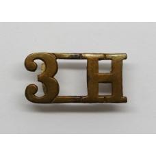 3rd Hussars (3H) Shoulder Title