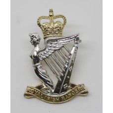 Royal Irish Rangers Anodised (Staybrite) Cap Badge