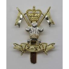 9th/12th Royal Lancers Anodised (Staybrite) Cap Badge