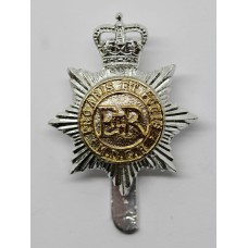 Middlesex Yeomanry Anodised (Staybrite) Cap Badge - Queen's Crown