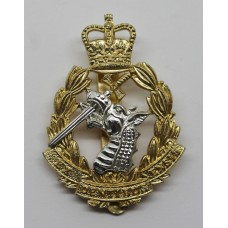 Royal Army Dental Corps (R.A.D.C.) Anodised (Staybrite) Cap Badge