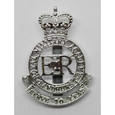 Royal Military Academy Sandhurst Anodised (Staybrite) Cap Badge