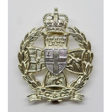 Inns of Court & City Yeomanry Anodised (Staybrite) Cap Badge