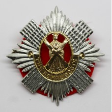 Royal Scots Anodised (Staybrite) Cap Badge