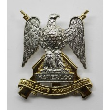Royal Scots Dragoon Guards Anodised (Staybrite) Cap Badge