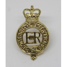 ERII Household Cavalry Anodised (Staybrite) Cap Badge