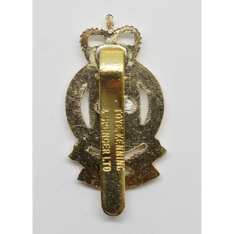 Royal Army Ordnance Corps (R A O C ) Anodised (Staybrite) Cap Badge