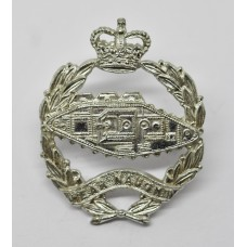 Royal Tank Regiment Anodised (Staybrite)  Cap Badge