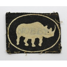10th Armoured Division Printed Formation Sign (2nd Pattern)
