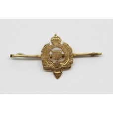 London Rifle Brigade 9ct Gold Sweetheart Brooch