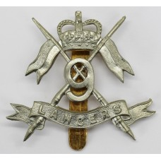 9th Lancers Cap Badge - Queen's Crown