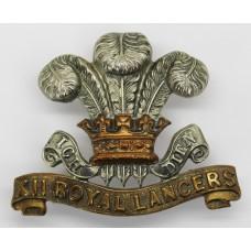 Victorian 12th Royal Lancers Cap Badge