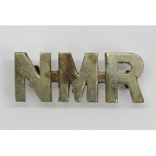 South African Natal Mounted Rifles (N.M.R.) Shoulder Title