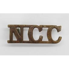 Non Combatant Corps (N.C.C.) Shoulder Title