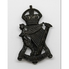 Royal Irish Rifles Cap Badge - King's Crown