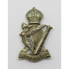 Royal Ulster Rifles Cap Badge - King's Crown