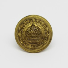 Lothians & Border Horse Yeomanry Officer's Button - King's Crown (Large)