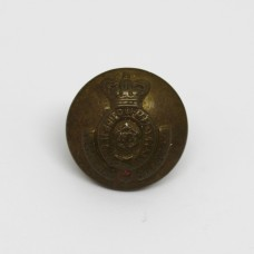 Victorian Yorkshire Dragoons Brass Button (Small)