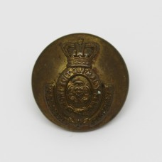 Victorian Yorkshire Dragoons Brass Button (Large)