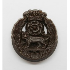 York & Lancaster Regiment WW2 Plastic Economy Cap Badge