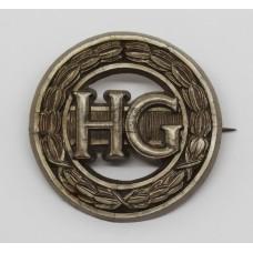 Home Guard WW2 Plastic Economy Cap Badge