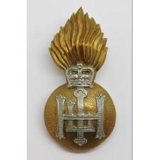Royal Highland Fusiliers Bi-Metal Cap Badge - Queen's Crown