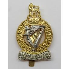 Queen's Royal Irish Hussars Cap Badge - Queen's Crown