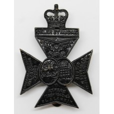 16th London Regiment (Queen's Westminster & Civil Service Rifles) Cap Badge - Queen's Crown