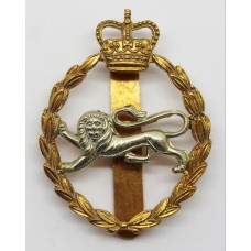 King's Own Royal Border Regiment Cap Badge - Queen's Crown