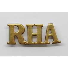 Royal Horse Artillery (R.H.A.) Shoulder Title