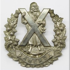 Queen's Own Cameron Highlanders Cap Badge