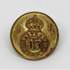 Indian Army 45th (Rattrays) Sikhs Officer's Button - King's Crown (Small)
