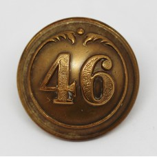 Victorian 46th (South Devonshire) Regiment of Foot Officer's Button (Large)