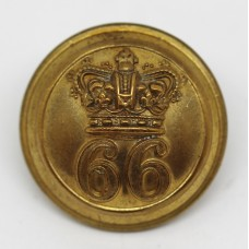 Victorian 66th (Berkshire) Regiment of Foot Officer's Button (Large)
