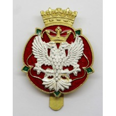 Royal Mercian and Lancastrian Yeomanry cap badge