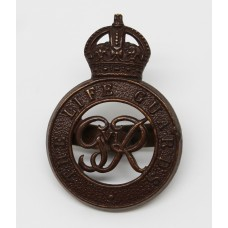George VI Life Guards Officer's Service Dress Cap Badge