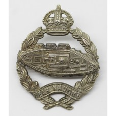 Royal Tank Regiment Cap Badge - King's Crown