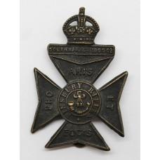 11th County of London Bn. (Finsbury Rifles) London Regiment Cap B