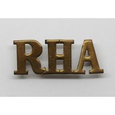 Royal Horse Artillery (R.H.A.) Shoulder Title
