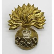 Grenadier Guards Warrant Officer's Cap Badge - Queen's Crown