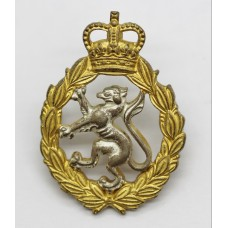 Women's Royal Army Corps (W.R.A.C.) Officer's Dress Cap Badge - Q