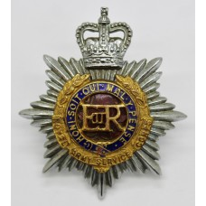 EIIR Royal Army Service Corps (R.A.S.C.) Officer's Dress Cap Badg