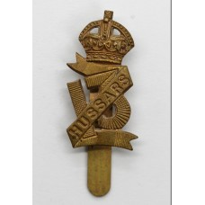 13th Hussars Cap Badge - King's Crown