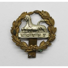 Gloucestershire Regiment Large Bi-Metal Back Cap Badge