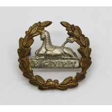 Victorian Gloucestershire Regiment Large Bi-Metal Back Cap Badge