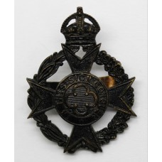 Royal Army Chaplain's Department Cap Badge - King's Crown